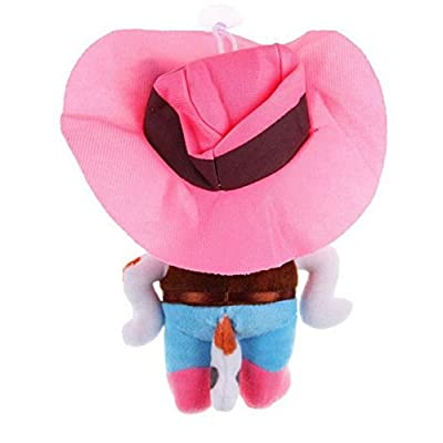Abby(TM) Playset Sheriff Callie's Wild West Plush Doll Pink Cowgirl Calico Cat Sheriff Callie-7.9inch/20cm: Toys & Games
