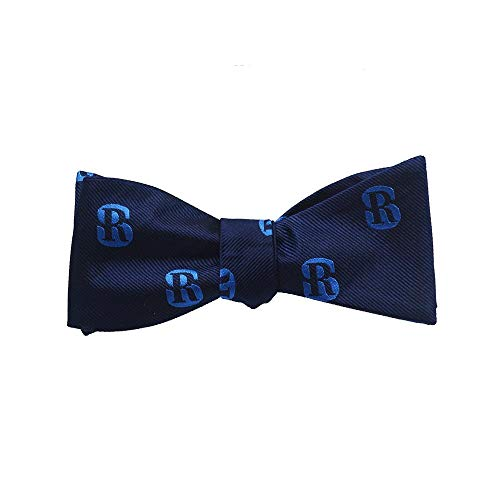 (SummerTies Salve Regina University Bow Tie - SR Logo, Officially Licensed, Woven Silk, Adult Tie Yourself Bow Tie )