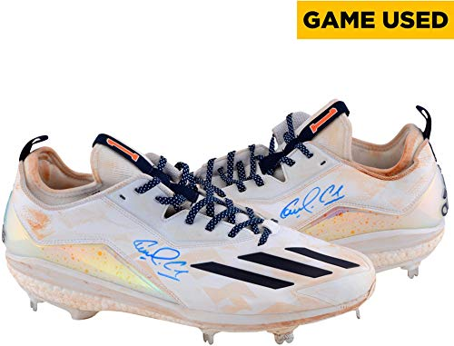 f1cb0d39b7afe1 Carlos Correa Houston Astros Autographed Game-Used Adidas White and Navy  Cleats - Size 13 - Fanatics Authentic Certified
