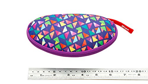 ZIPIT Colorz Box Glasses Case, Purple Photo #3