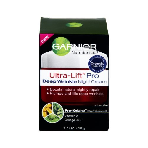 Garnier Nutritioniste Ultra-Lift anti-rides Crème raffermissante nuit - 1,7 once (pack de 3)
