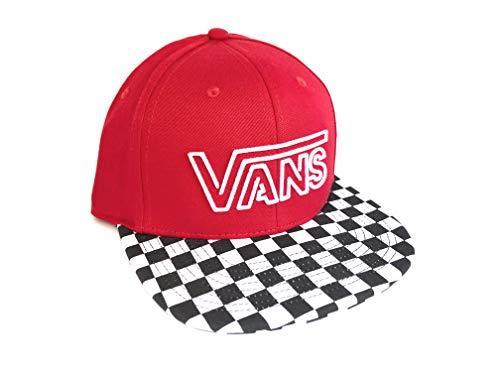 Vans Neon B-Day Snapback Hat Checker Cap