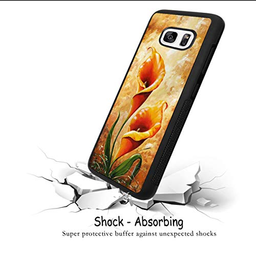 Amazon com: Case for Samsung Galaxy S7 edge case Calla Lily