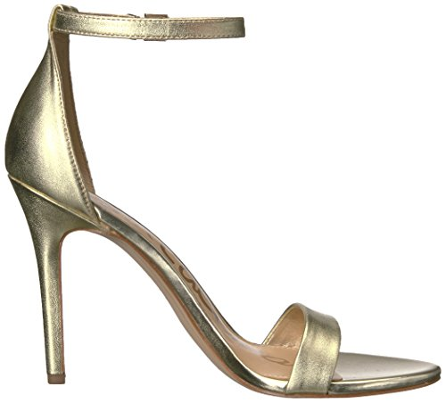 Sam Edelman Womens Amee Luxegold Soft Metallic Leather