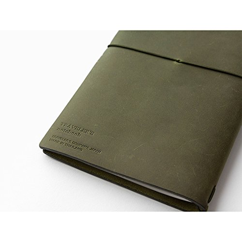 MIDORI TRAVELER'S notebook OLIVE EDITION 2017 Limited Photo #3