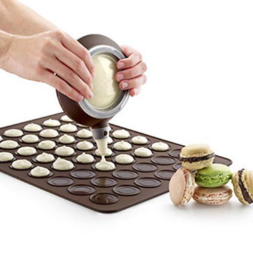 - Macaroon Baking Mat - French Macaroon Baking Mat - Kitchen Silicone Macaron Pastry Oven Baking Mould Macaroon Sheet Mat 30-Cavity Mold Baking Mat - French Macaroons Baking Mat by Dotuta