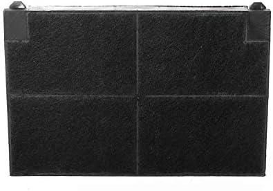 daniplus/© da 225 x155 mm Set di 2 filtri a carboni attivi adatti a cappe di marca Elica Electrolux sostitutivi del tipo EFF55 50232980008