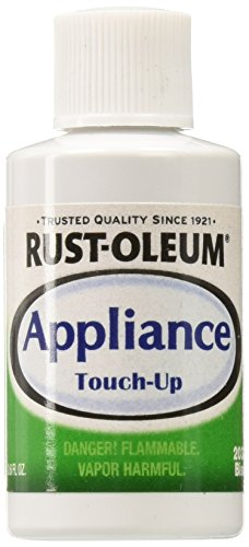 Rust-Oleum 203002 Appliance Touch Up Paint, 0.6 Oz Bottle, Biscuit, Solvent Like, -