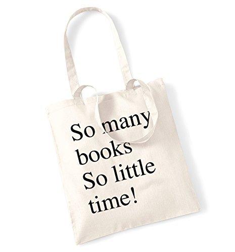 Amazon.com: Así que muchos libros tan poco tiempo bolso ...