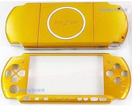 NEW Replacement Sony PSP 3000 Console Full Housing Shell Cover With Button Set White.