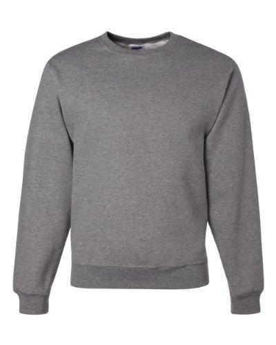 JERZEES - Crewneck Sweatshirt. 562M, XL, Oxford - Jerzees Fleece Oxfords