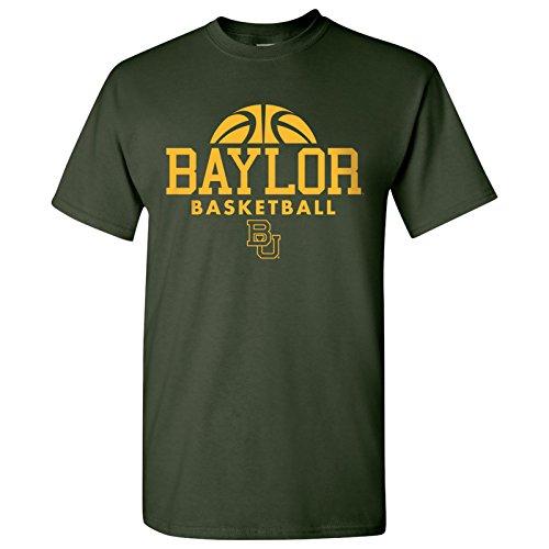 - Baylor Bears Basketball Hype Mens T-Shirt - Medium - Forest Green