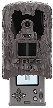 BOG Clandestine 18MP Invisible Flash Game Camera with Removable Photo Viewing Screen Image Tagging and HD Video for Hunting Land Management and Security