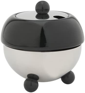 black 9.5 x 9.5 x 10.1 cm Bredemeijer Sugarbowl Stainless Steel