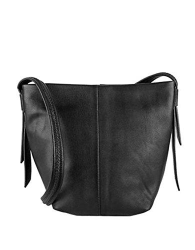 Cole Haan Designer Handbags - COLE HAAN LOCKHART MEDIUM CROSSBODY BLACK