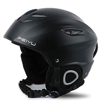 Toogou - Casco de esquí Profesional para Adultos, de Seguridad, para Motocicleta, Color