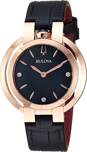 - Bulova Women's Rubaiyat - 97P139 Rose One Size