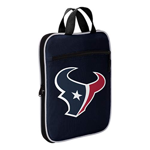 NFL Houston Texans NFL Steal Duffel, Navy, Measures 28'' in Length, 11'' in Width & 12'' in Height by The Northwest Company (Image #3)