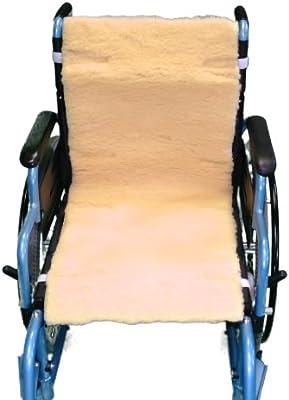 Able2 – piel de oveja protección de asiento/respaldo para silla de ruedas. Able2 – piel de oveja protección de asiento/respaldo para silla de ruedas