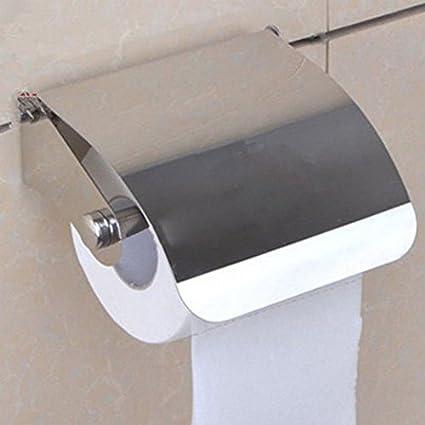 Portarrollos de papel higiénico para pared con dispensador de rollo de papel higiénico