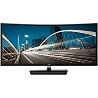 AOC C3583FQ 35 VA Curved LED Monitor 2560 x 1080 Res, 21:9,160hz, 300 cd/m2, 4ms,VGA/DVI/(2) HDMI/(2) DP, Spk