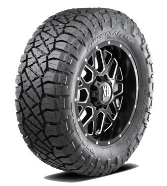 (Nitto Ridge Grappler All-Terrain Radial Tire - LT275/55R20 120Q)