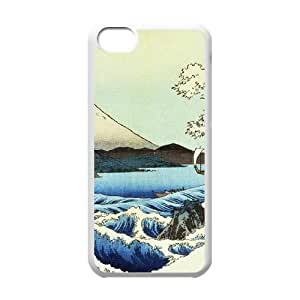 iPhone 5c Cell Phone Case White View from Satta Suruga Province Llcsf