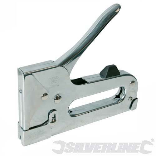 SILVERLINE 101339 HEAVY DUTY ALUMINIUM STAPLER