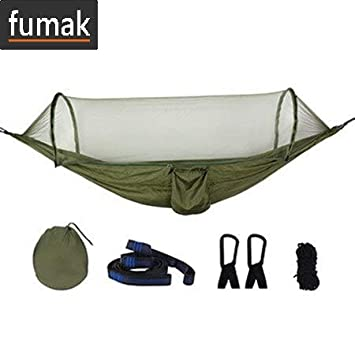 Amazon.com: fumak Swing Chair - Army Green Quick Open ...