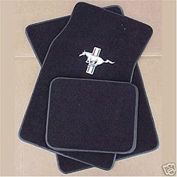 Ford Mustang Floor Mats 4 Piece Set 1964 1973 Amazon Co Uk Car