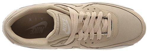 Herren Nike Air Max 90 Essentiële Laag-top, Beige Medium (woestijnzand / Zand / Wit 087)