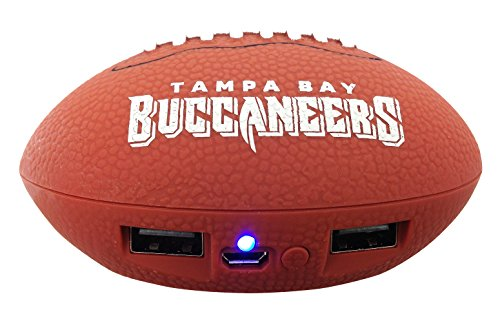 NFL Tampa Bay Buccaneers Phone Charger, One Size, - Tampa International