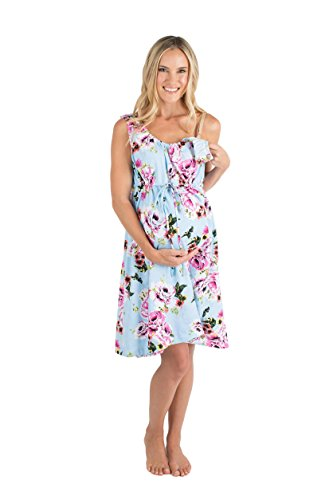 Baby Be Mine 3 in 1 Labor/Delivery / Nursing Hospital Gown Maternity, Hospital Bag Must Have