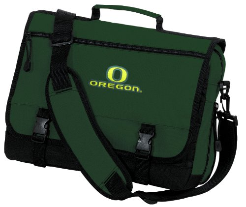 Broad Bay OFFICIAL University of Oregon Laptop Bag UO Messenger Bag by Broad Bay