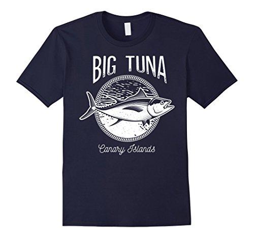 Mens Big Tuna Canary Islands Fishing Graphic T-Shirt XL (Big Tuna)