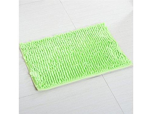 Hezon Bedroom Home Kitchen Living Room Hall Bathroom Bathroom Door Mat Rug Sucking Non-slip Mat(Green) EASY TO USE by Hezon