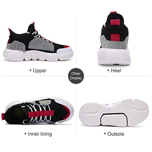 CAMEL CROWN Running Shoes Men, Lightweight Walking Shoes Fashion Sneaker Athletic Running Shoes for Men, Sport Shoes for Running, Shopping, Walking, Activities