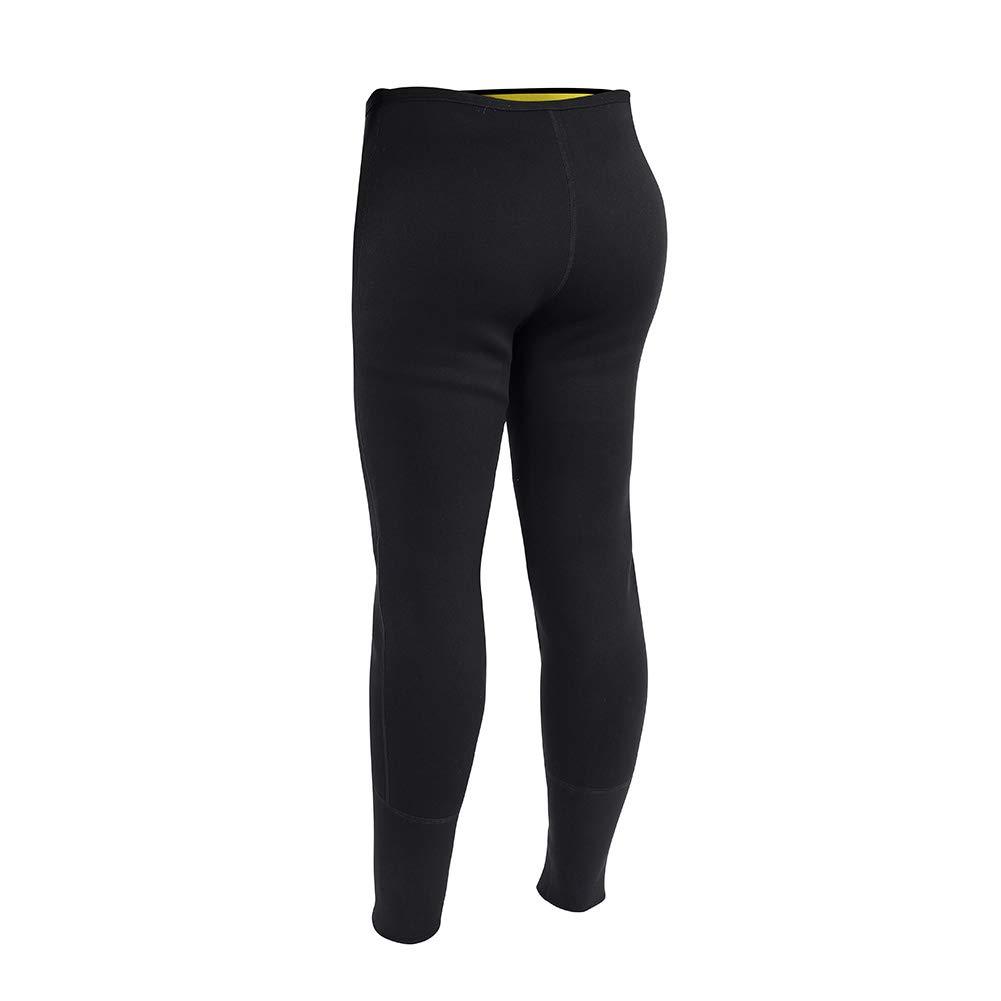 Fsskgxx Neopren M/änner Frauen Fitness Gewichtsverlust Abnehmen Sauna Legging Hosen Hei/ßer Schwei/ß K/örperform S-4XL