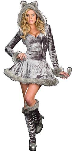 Big Bad Sexy Wolf Lg Adult Womens Costume (Sexy Wolf Woman Costume)