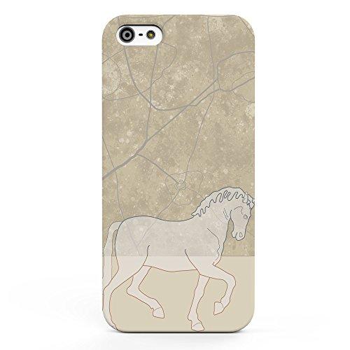 Koveru Back Cover Case for Apple iPhone 5S - Walking Horse