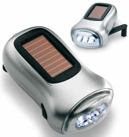 Safeway Portable Emergency Solar Hand Crank Dynamo with Lithium Battery: 3.6v/40mAH - 3 Super Bright LED (13000-18000MCD) Flashlight with Wrist Wrap - Perfect Indoor or Outdoor Activities, Emergencies, Camping or Vehicles - MUST HAVE SAFETY & SECURITY - When Life (3 Led Super Bright Dynamo)