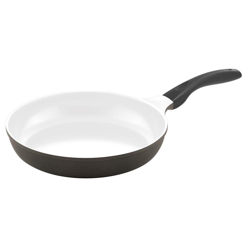 Culinario VIDcom 051566 - Sartén (diámetro de 28 cm, para inducción, revestimiento doble de cerámica), color gris y blanco: Culinario: Amazon.es: Hogar