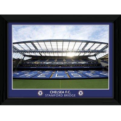 Stamford Bridge Picture - Framed - 16 x 12