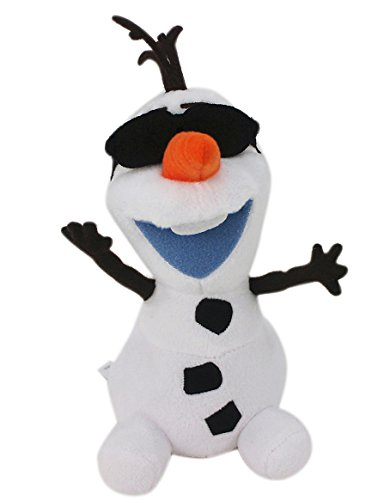 [Disney's Frozen Olaf the Snowman Plush Rearview Mirror Hanger] (Disney Frozen Snowman)