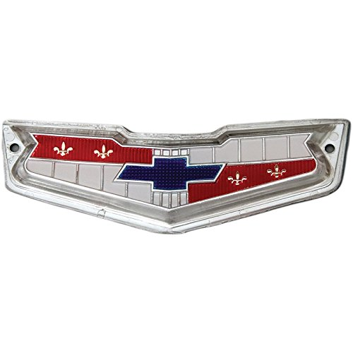 - Eckler's Premier Quality Products 40-137267 Full Size Chevy Rear & Tailgate Emblem, El Camino & Wagon,