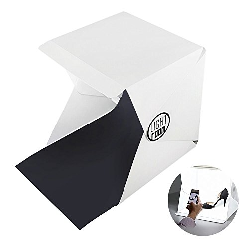 COWEEN Photo Tent with Lights Portable Small Backdrop Folding Photo Booth Shooting Tent (Foto Studio Lighting)