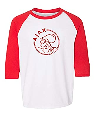 Spark Apparel New Soccer Amsterdam Youth Quarter Sleeve Raglan T-Shirt
