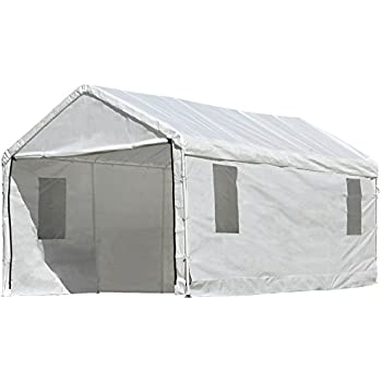 ShelterLogic MaxAP ClearView Enclosure Kit with Windows 10 x 20 ft. (Frame and  sc 1 st  Amazon.com : canopy frame - memphite.com