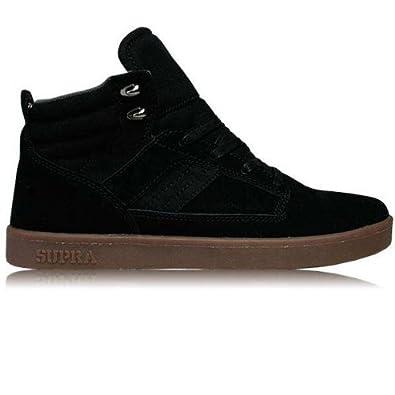 82e8546bac13 Supra Bandit Mid Black Suede Canvas (11 UK)  Amazon.co.uk  Shoes   Bags