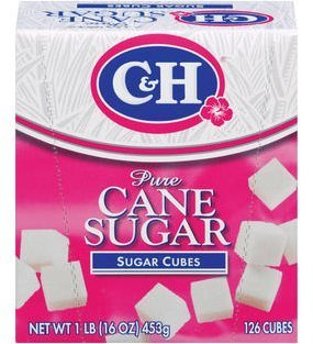 (C&H Pure Sugar Cane Cubes, 16 oz (Pack of 2) )